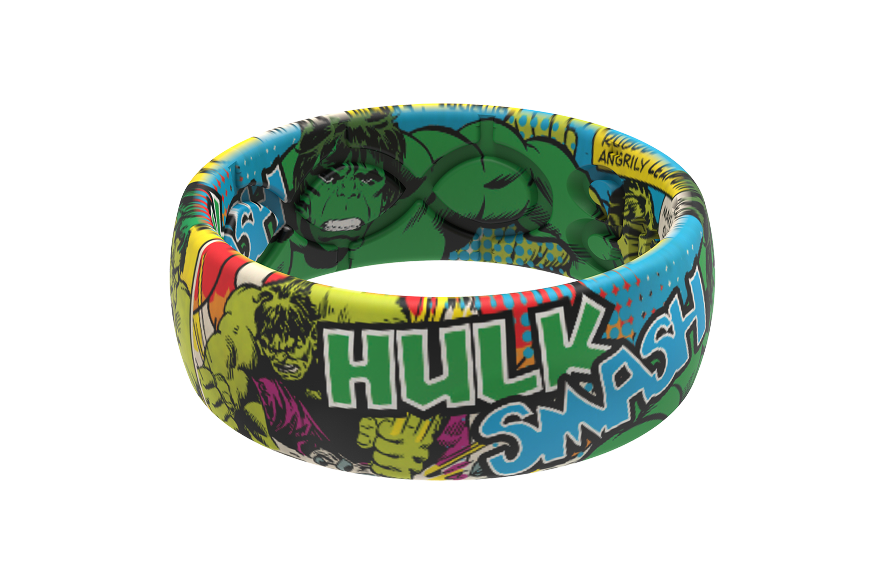 Hulk Classic Comic  viewed front on