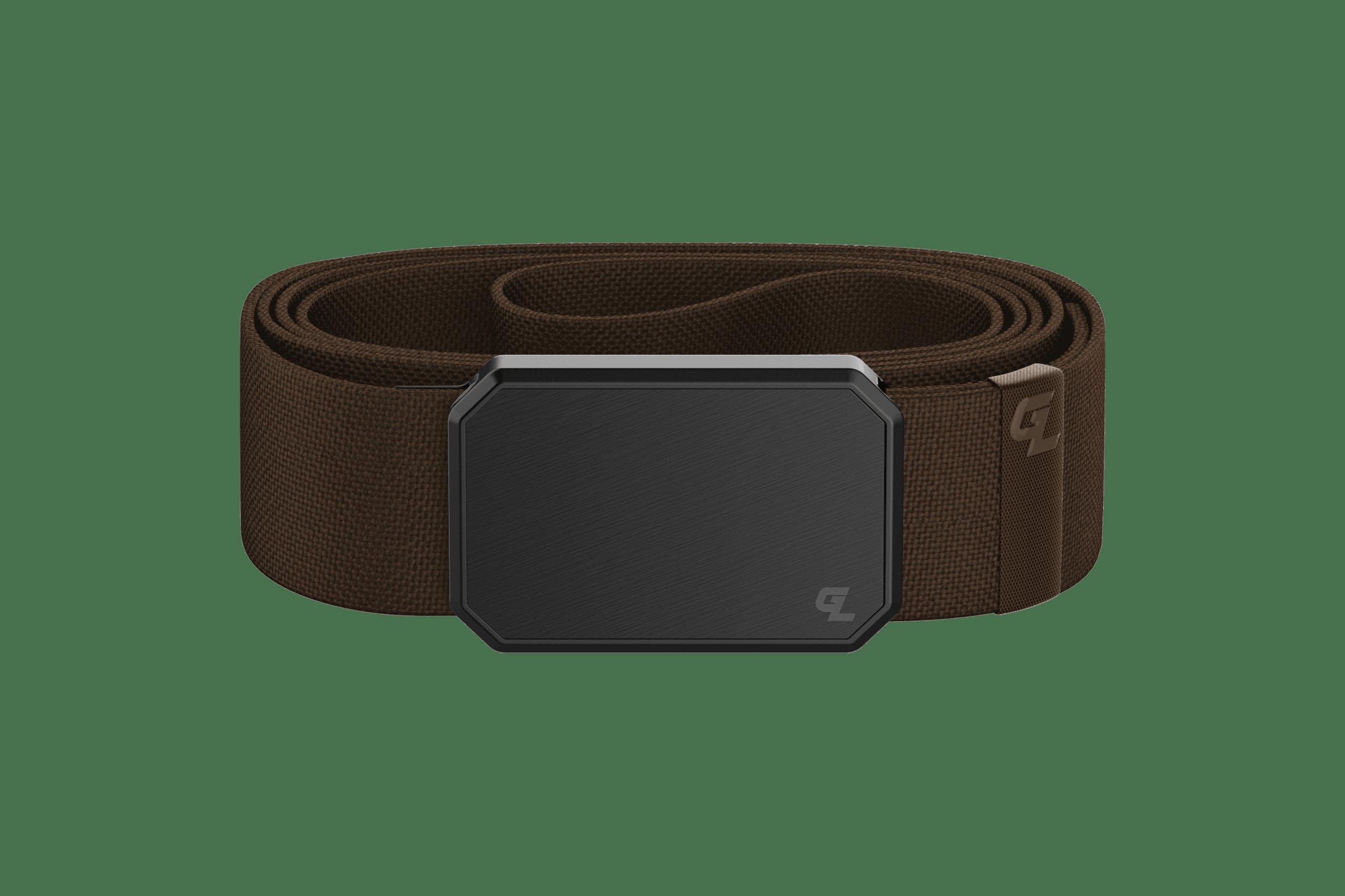 Groove Belt Black/Brown  viewed front on