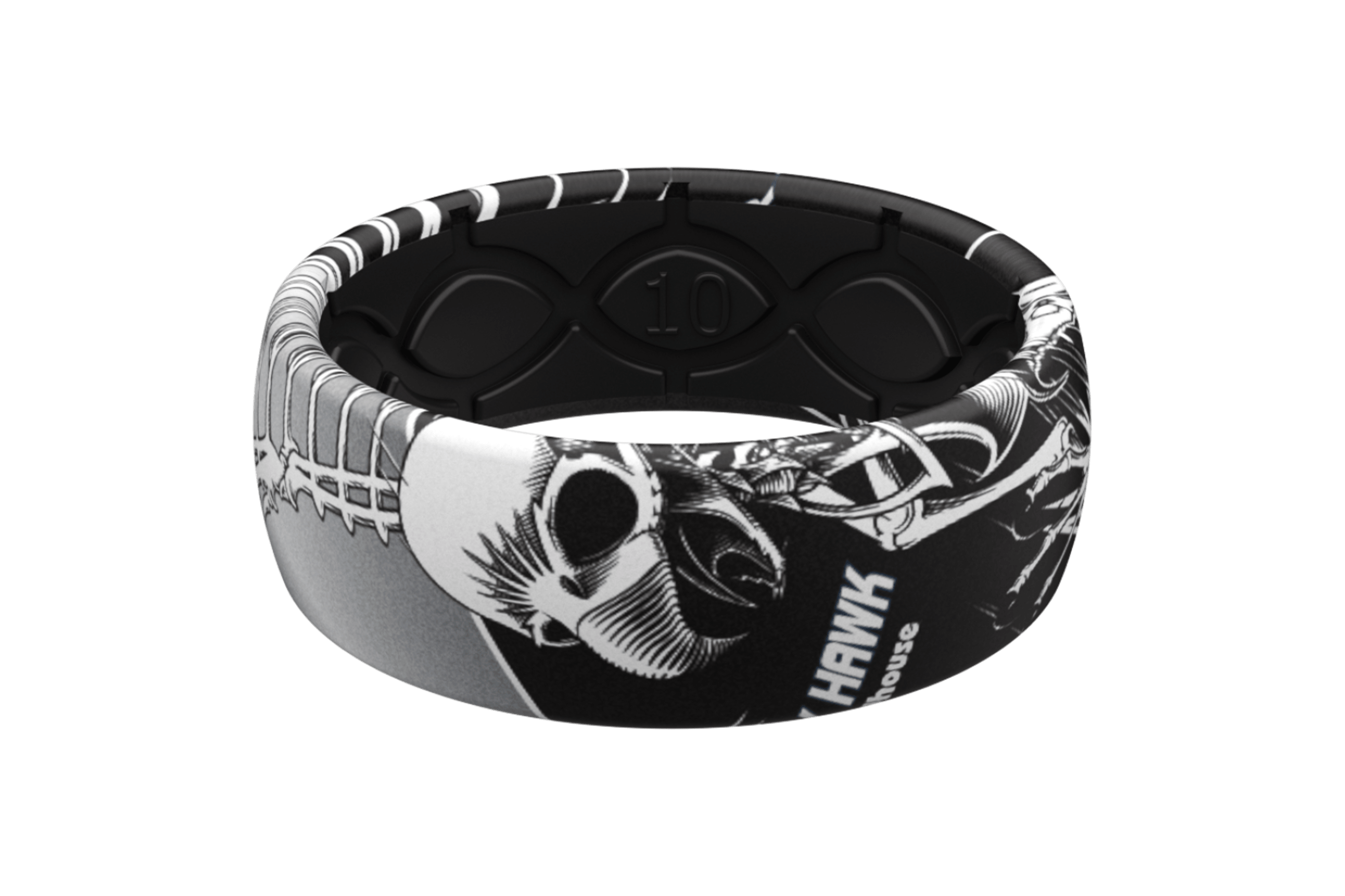 Full Hawk Ring  viewed front on