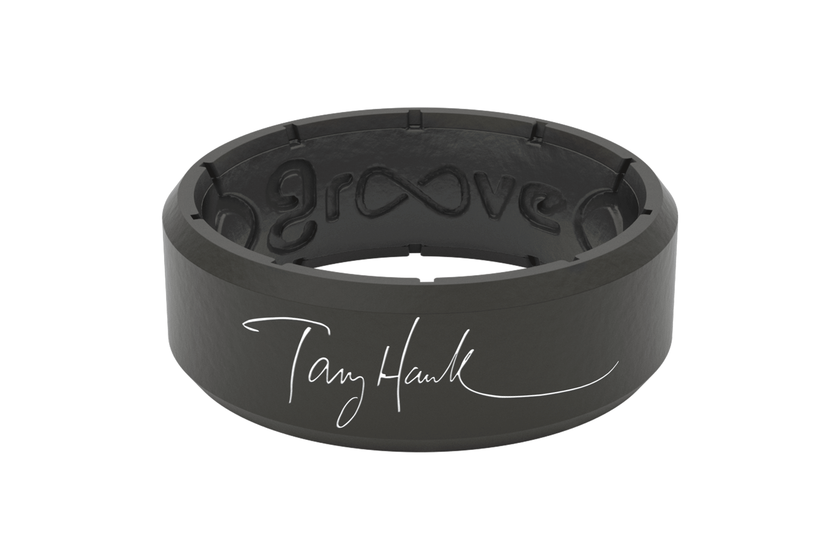Tony Hawk Signature Ring  viewed front on