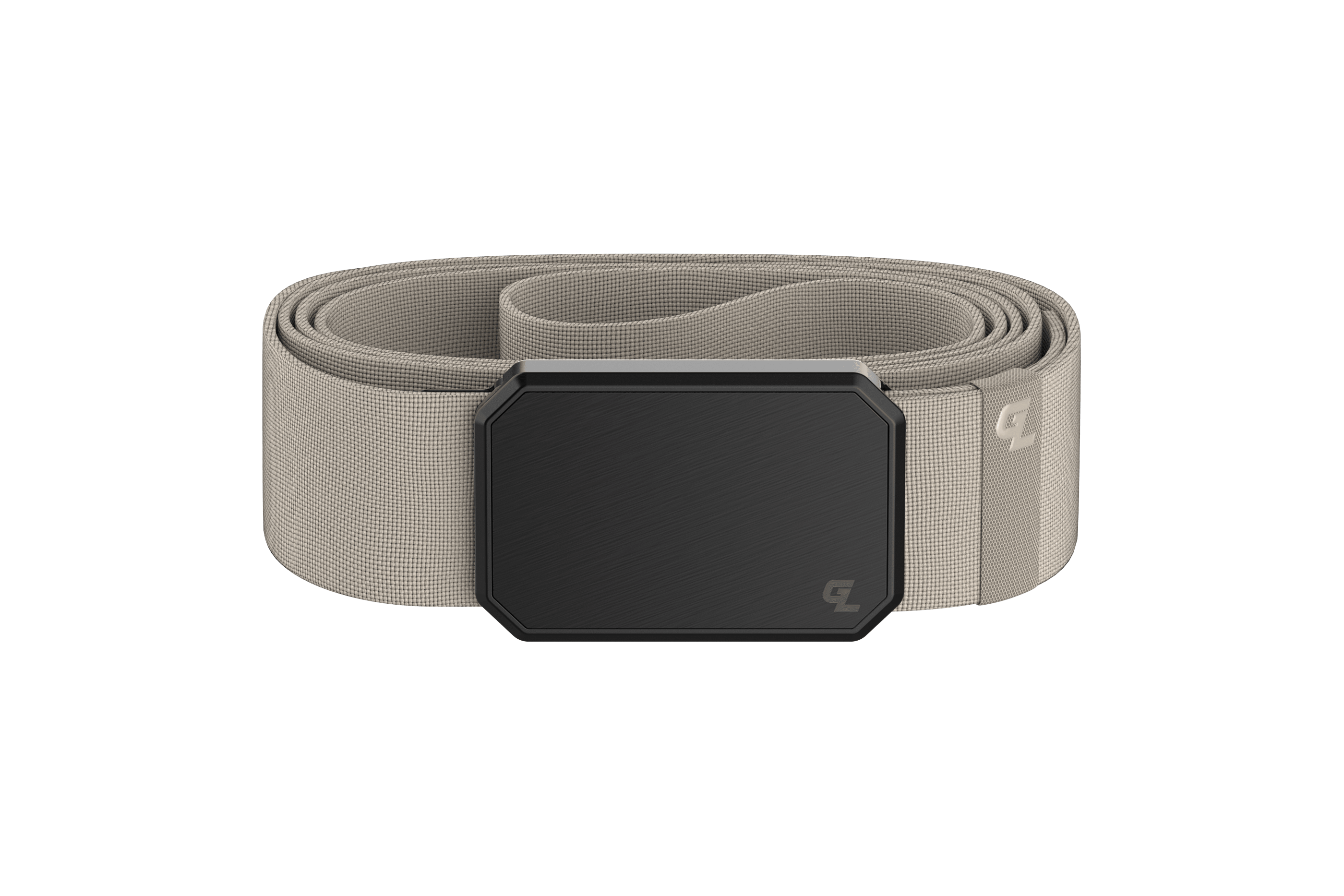 Groove Belt Black/Flat Earth viewed front on