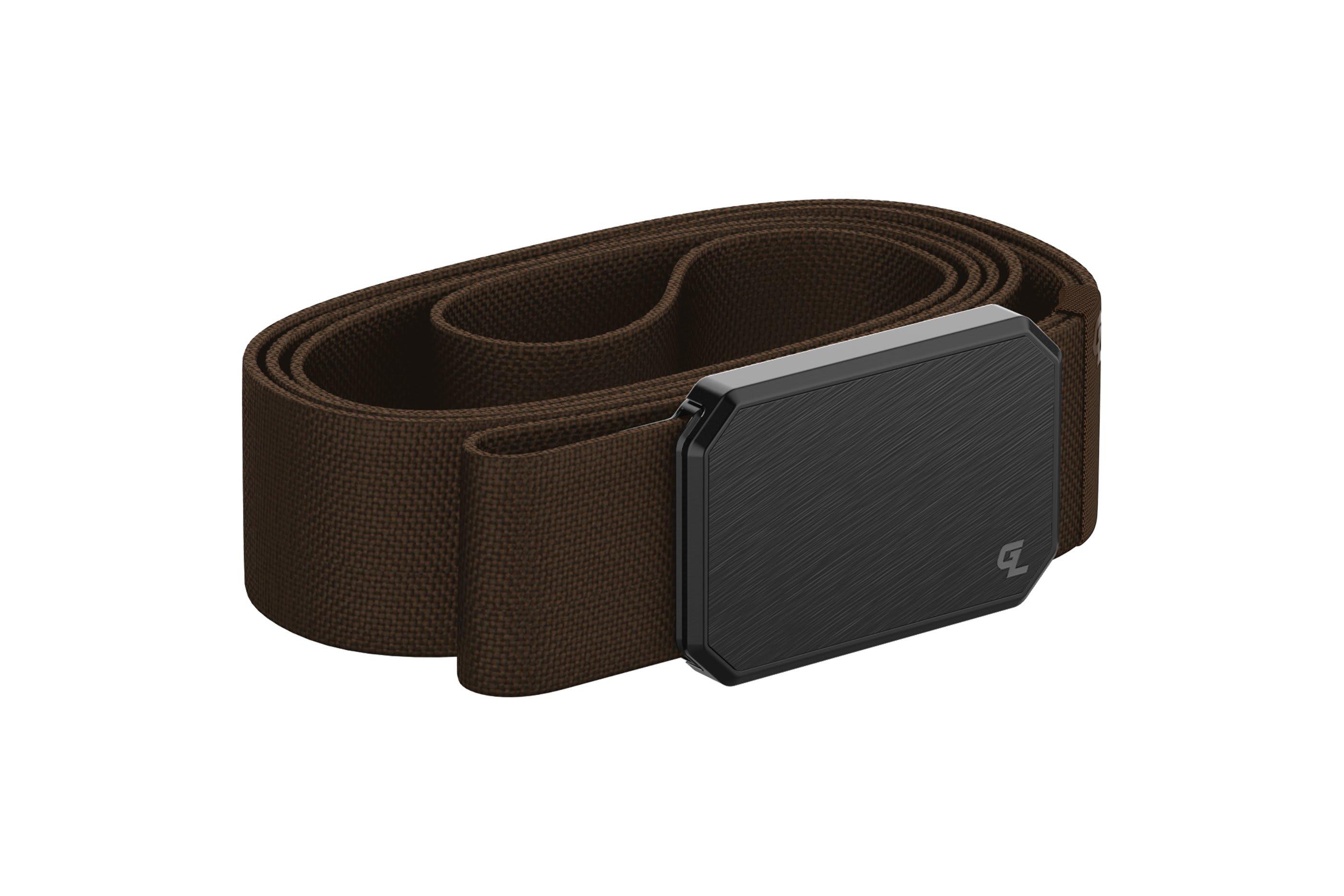 Groove Belt Black/Brown  viewed from side