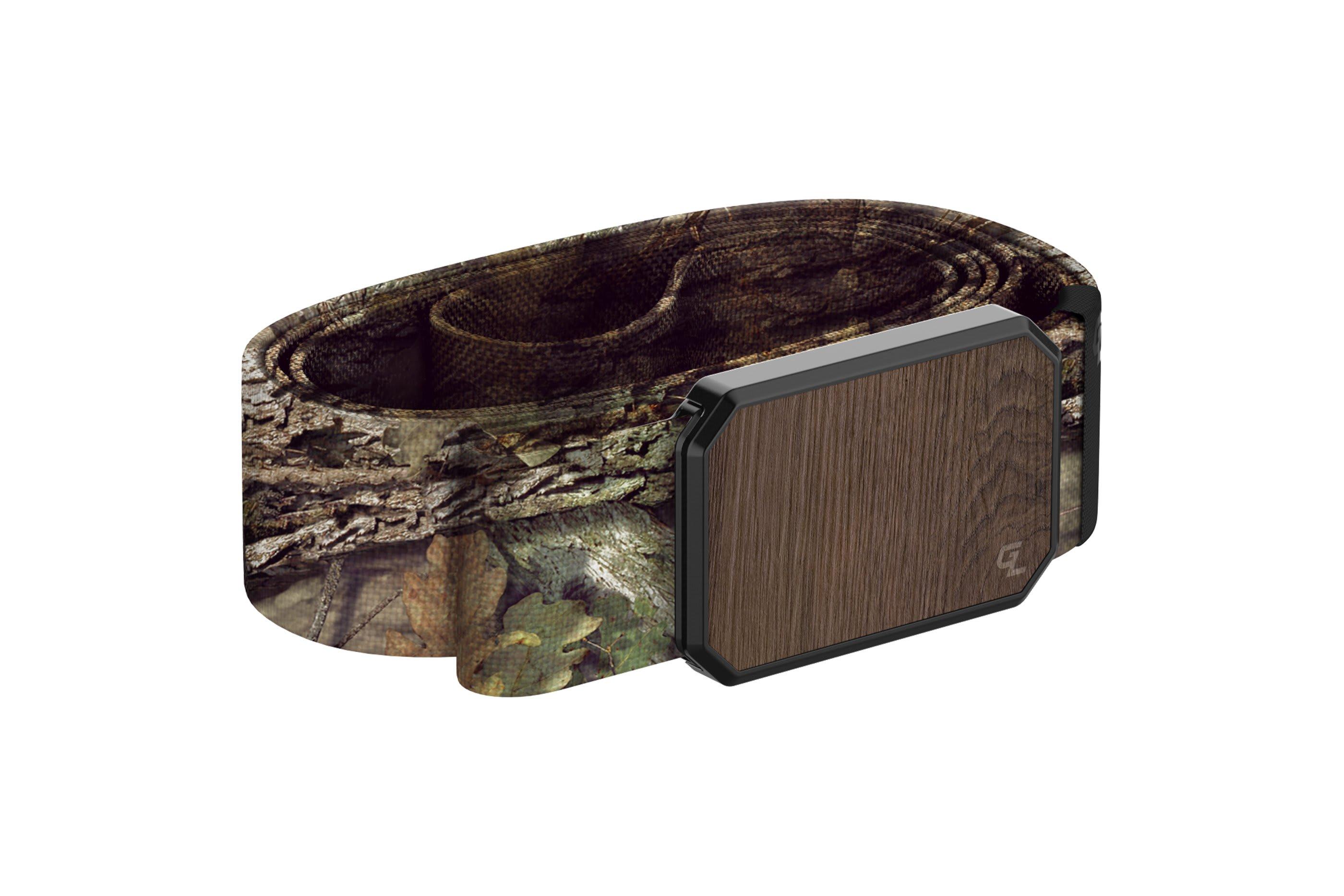 Groove Belt Mossy Oak Breakup Walnut  viewed from side