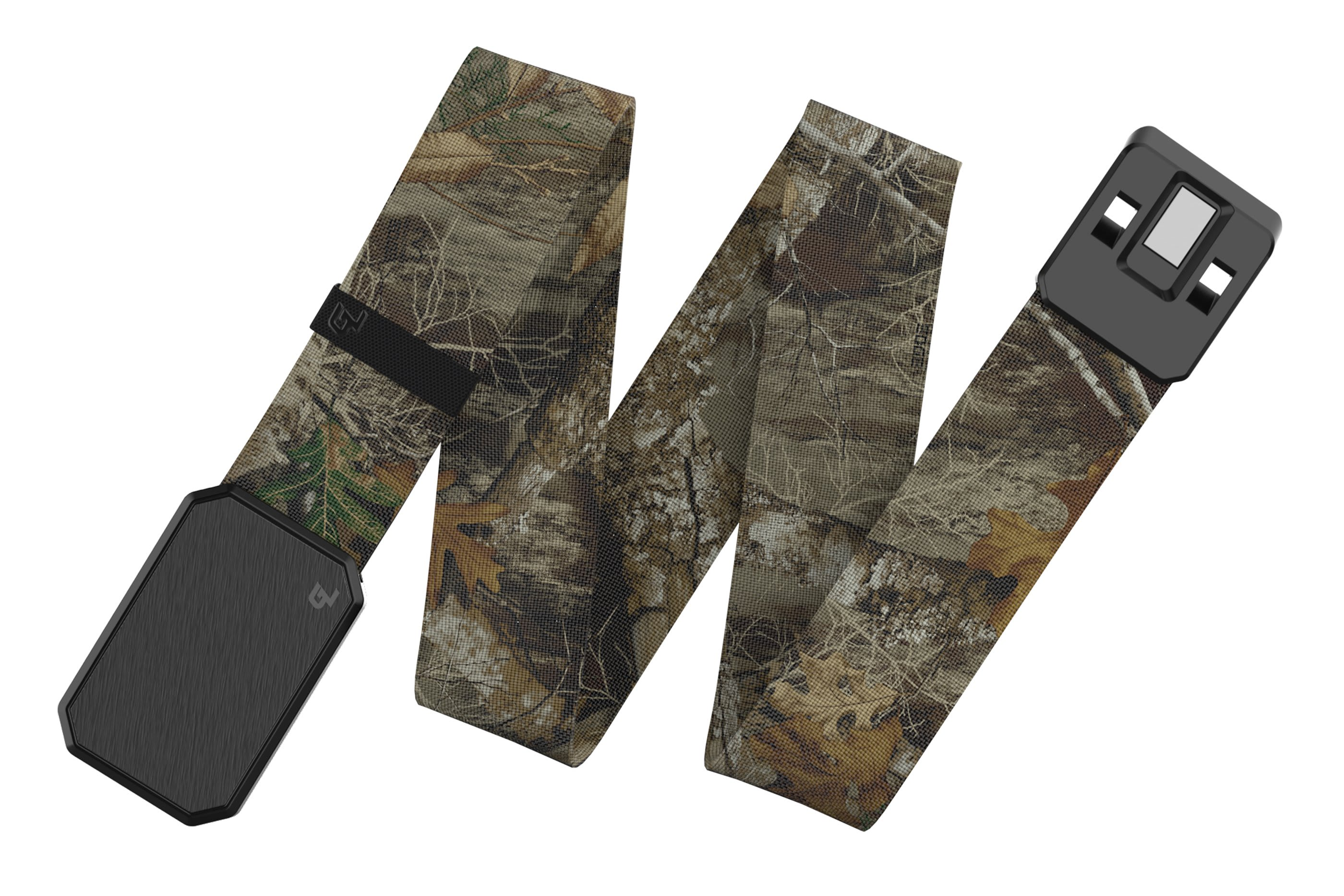 Groove Belt Black/Realtree Edge viewed spread out