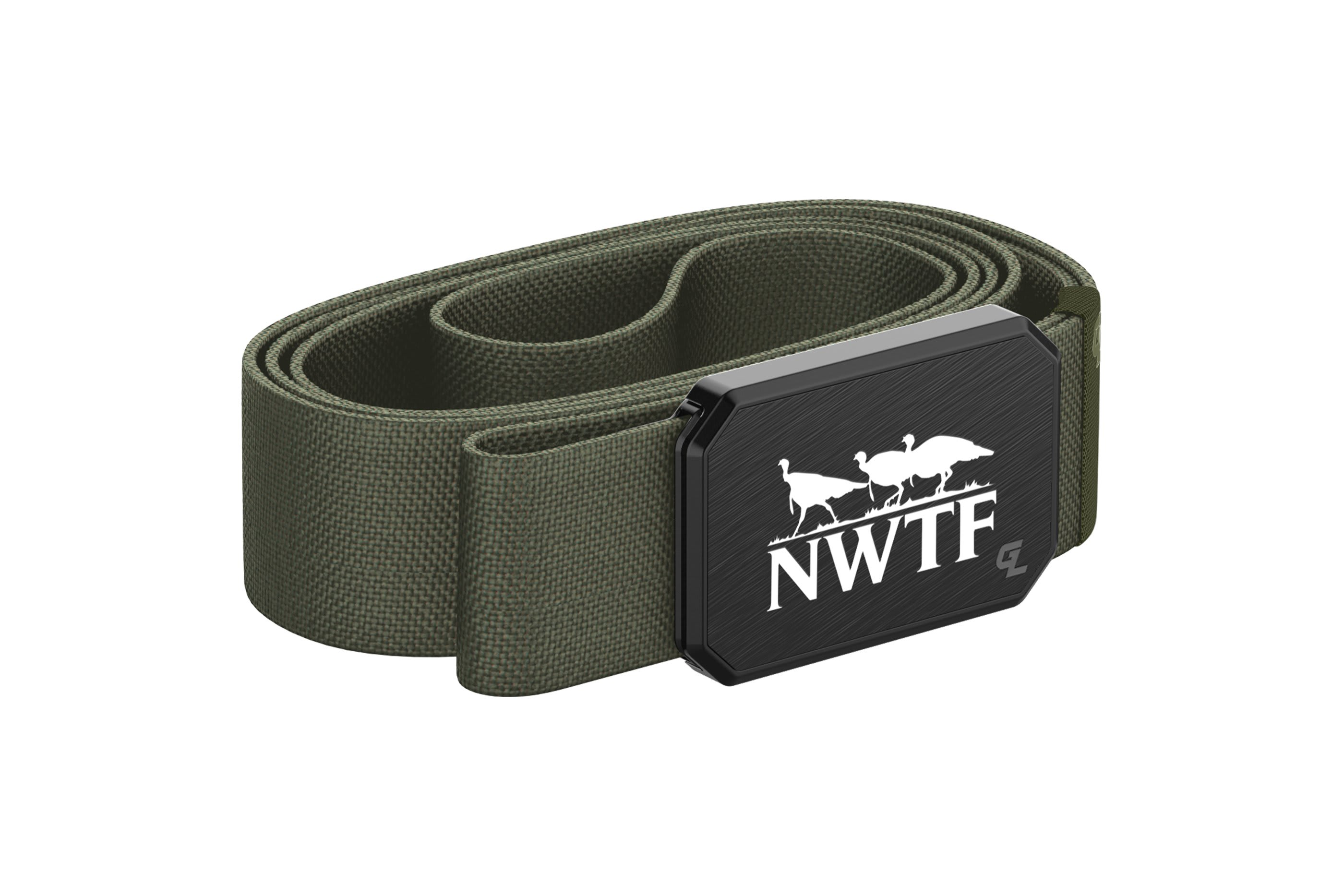 Groove Belt Black/Olive NWTF  viewed from side