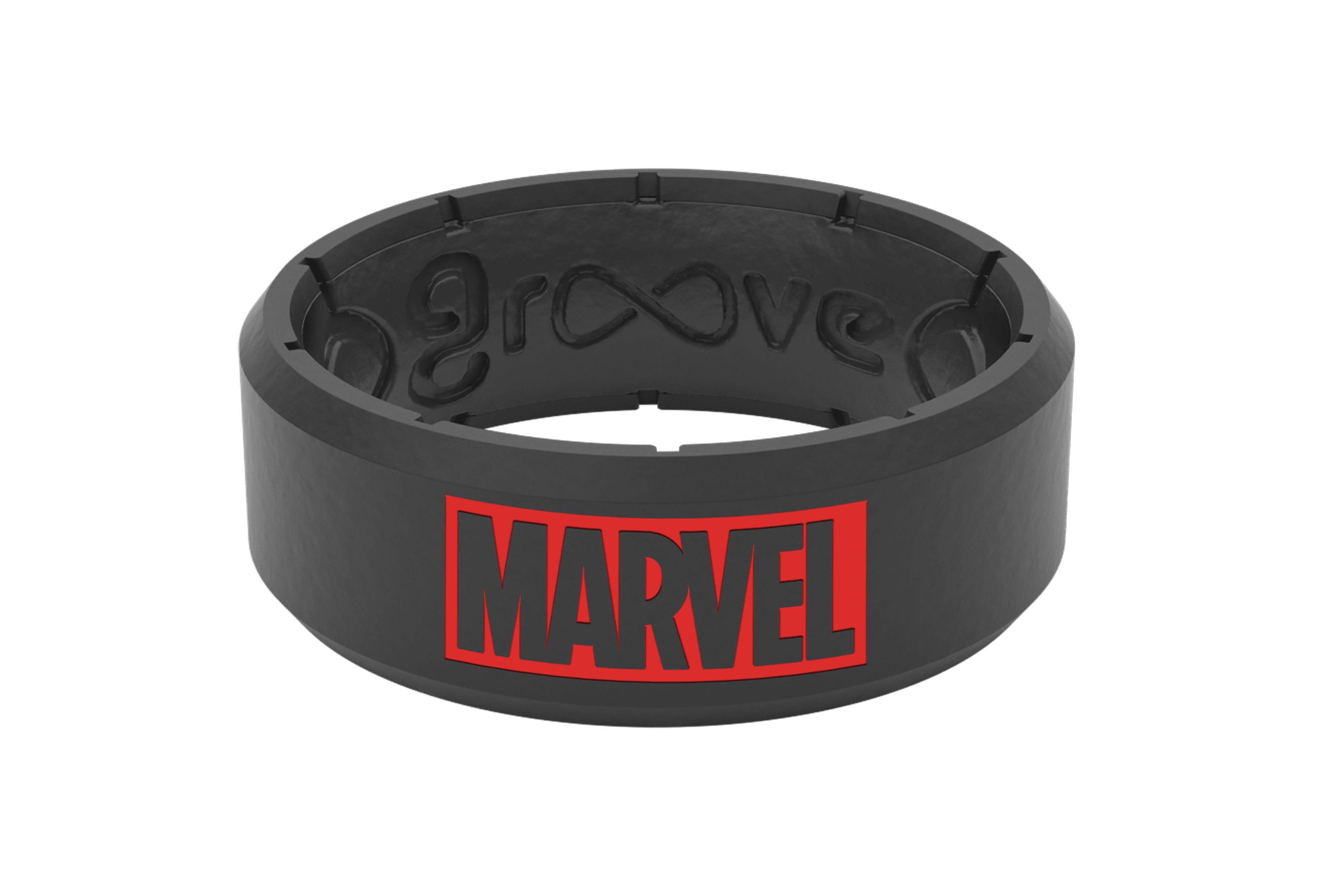Marvel Logo  viewed front on
