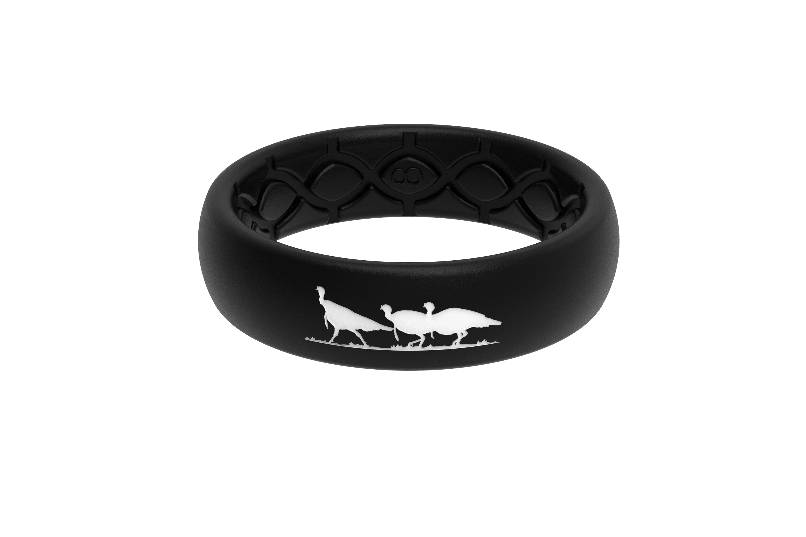Thin NWTF Black Logo  viewed front on