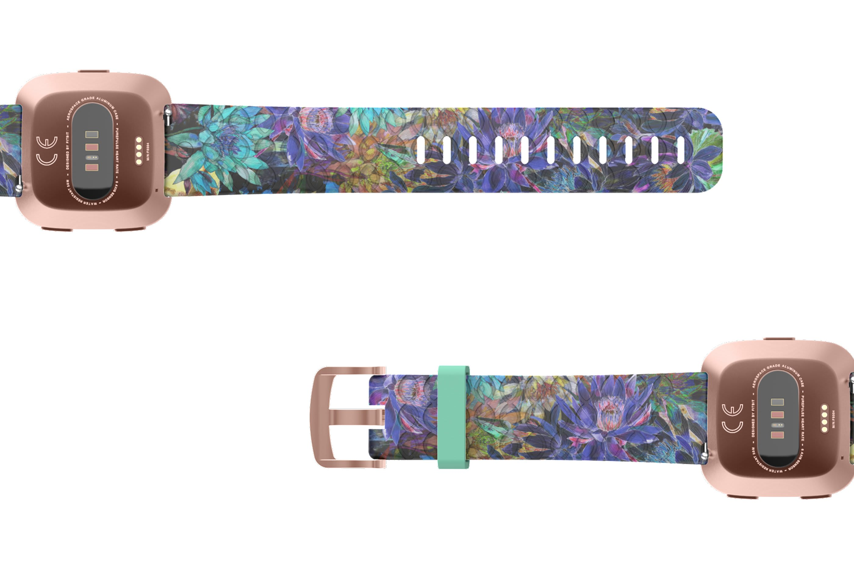 Twilight Blossom Fitbit Versa Watch Band - Groove Life