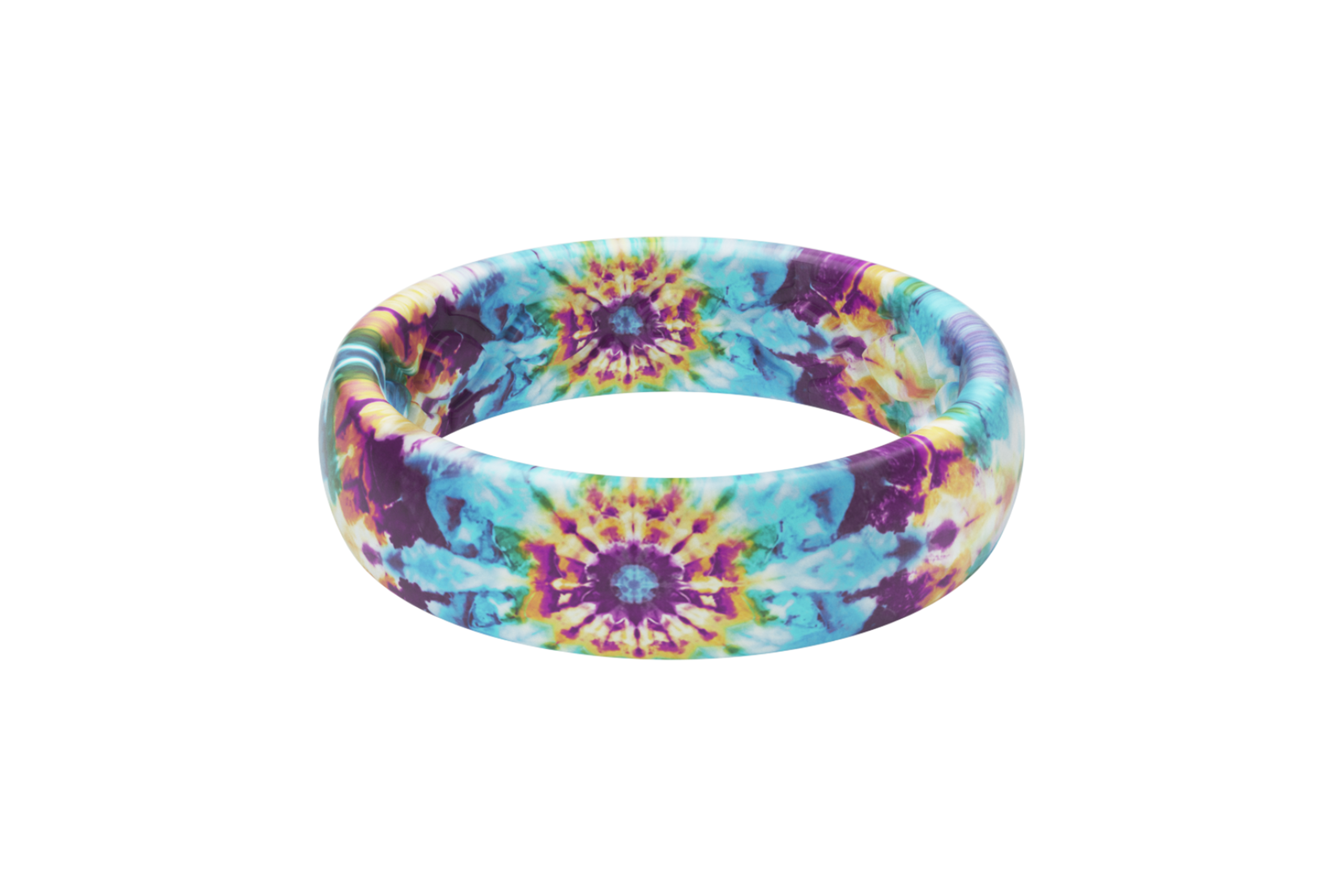 Groove Life Wild Thing Thin Tie-Dye viewed front on