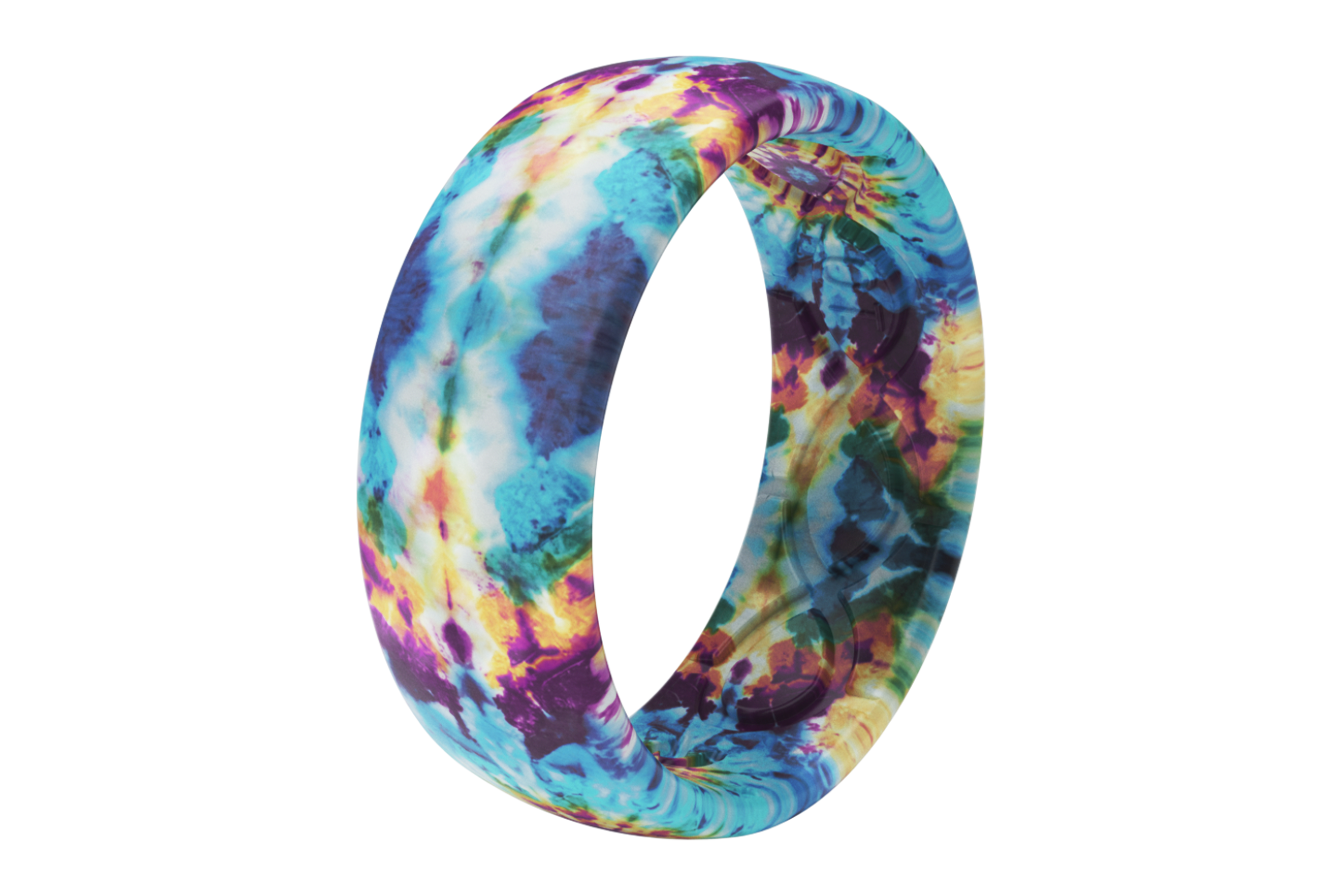 Groove Life Wild Thing Tie-Dye  viewed on its side  viewed on its side