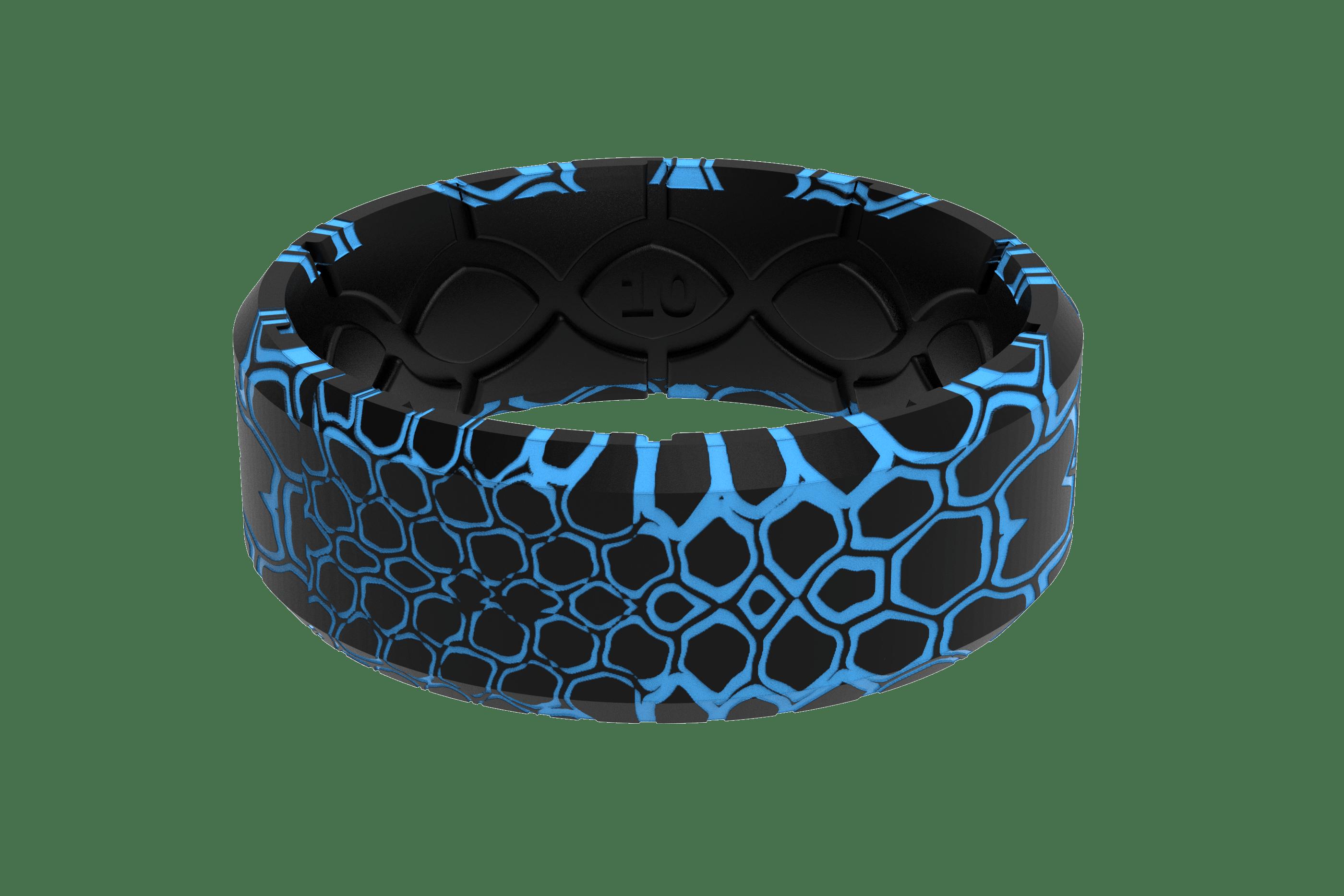 Kryptek Pontus 3D Camo Ring viewed from front