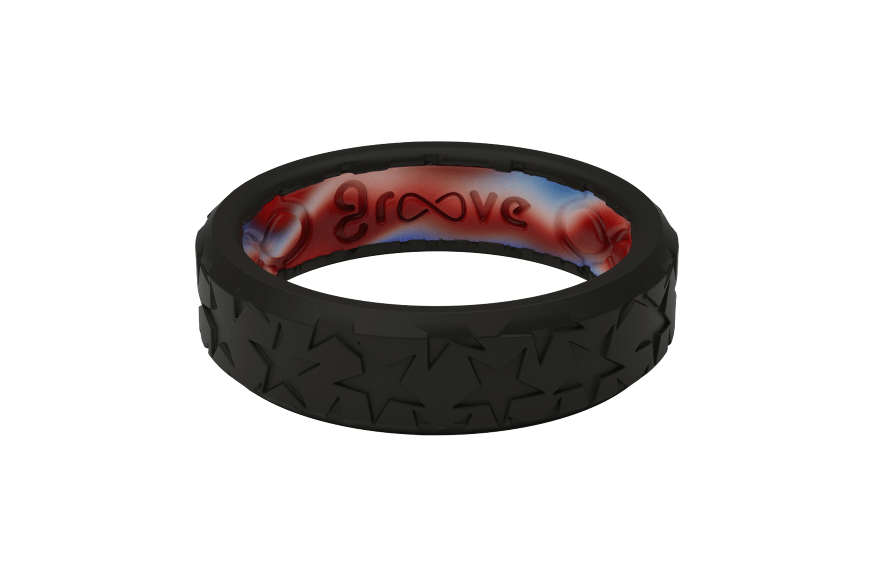 Zeus Edge Thin Remember - Groove Life Silicone Wedding Rings