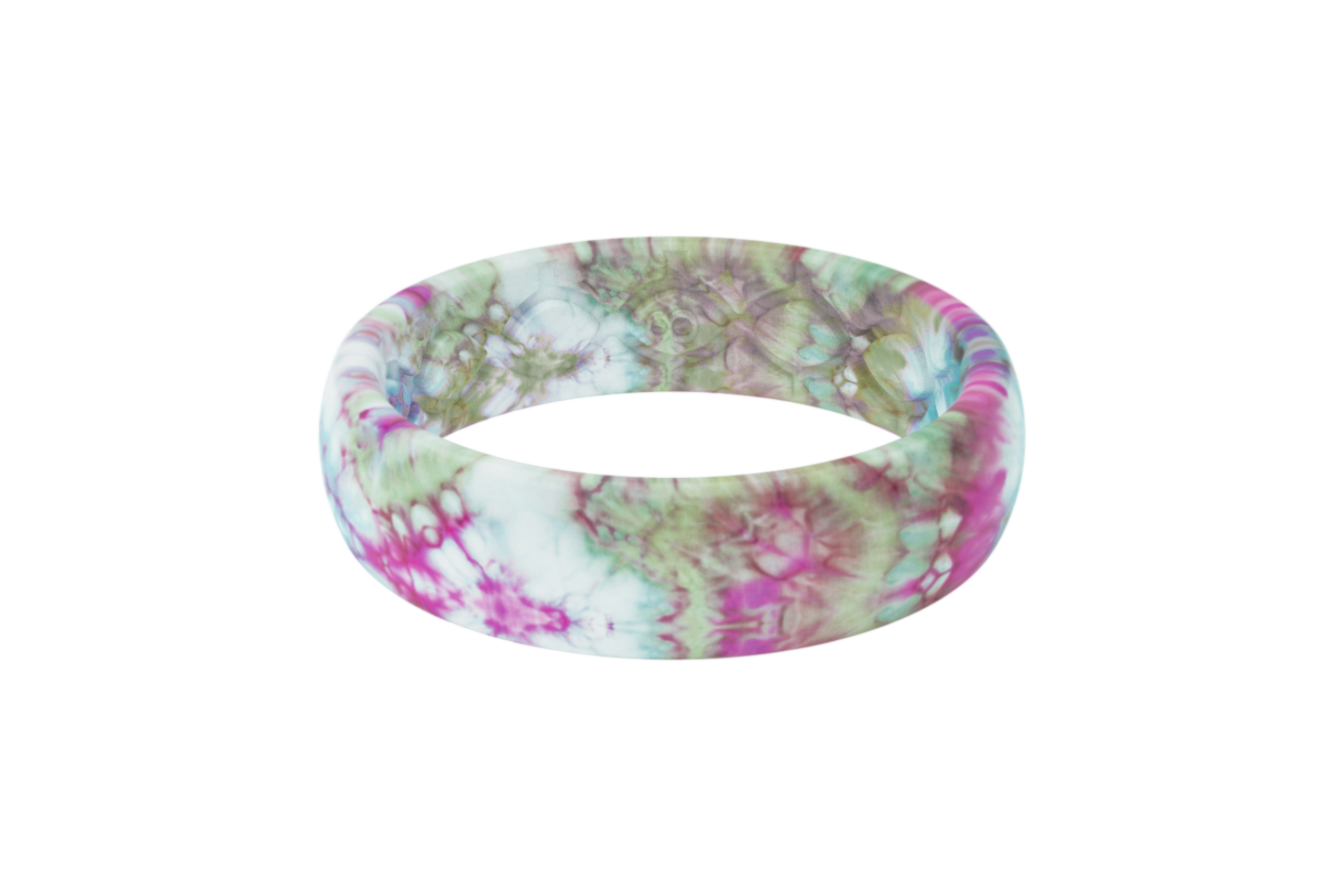Groove Life Peace, Love, Tie-Dye Thin Tie-Dye viewed front on