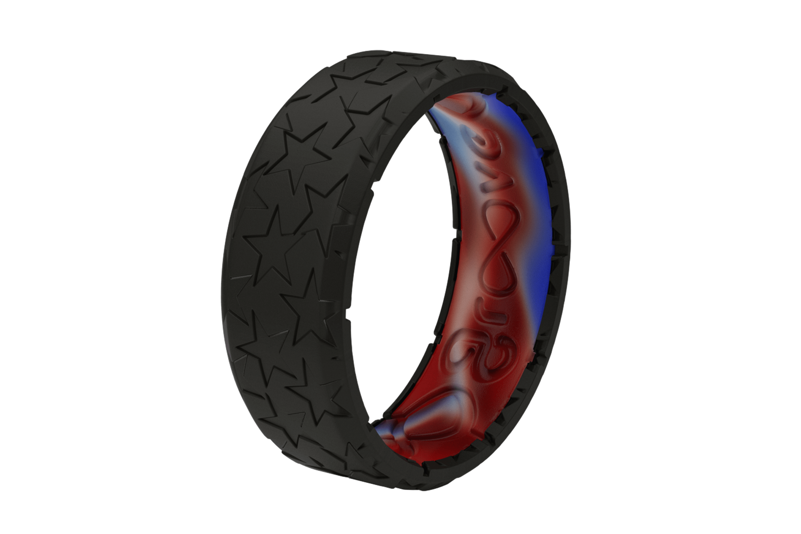 Zeus Edge Remember - Groove Life Silicone Wedding Rings