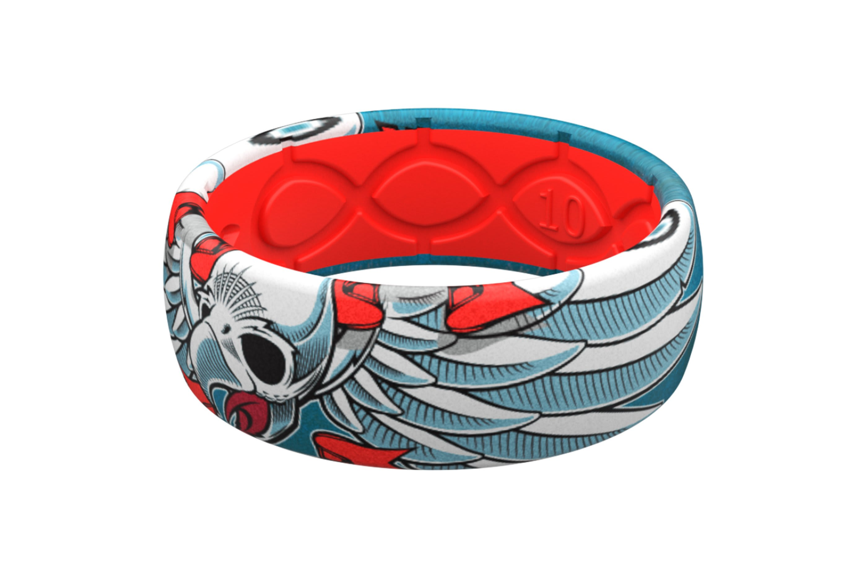 Flying Falcon Ring - Groove Life Silicone Wedding Rings