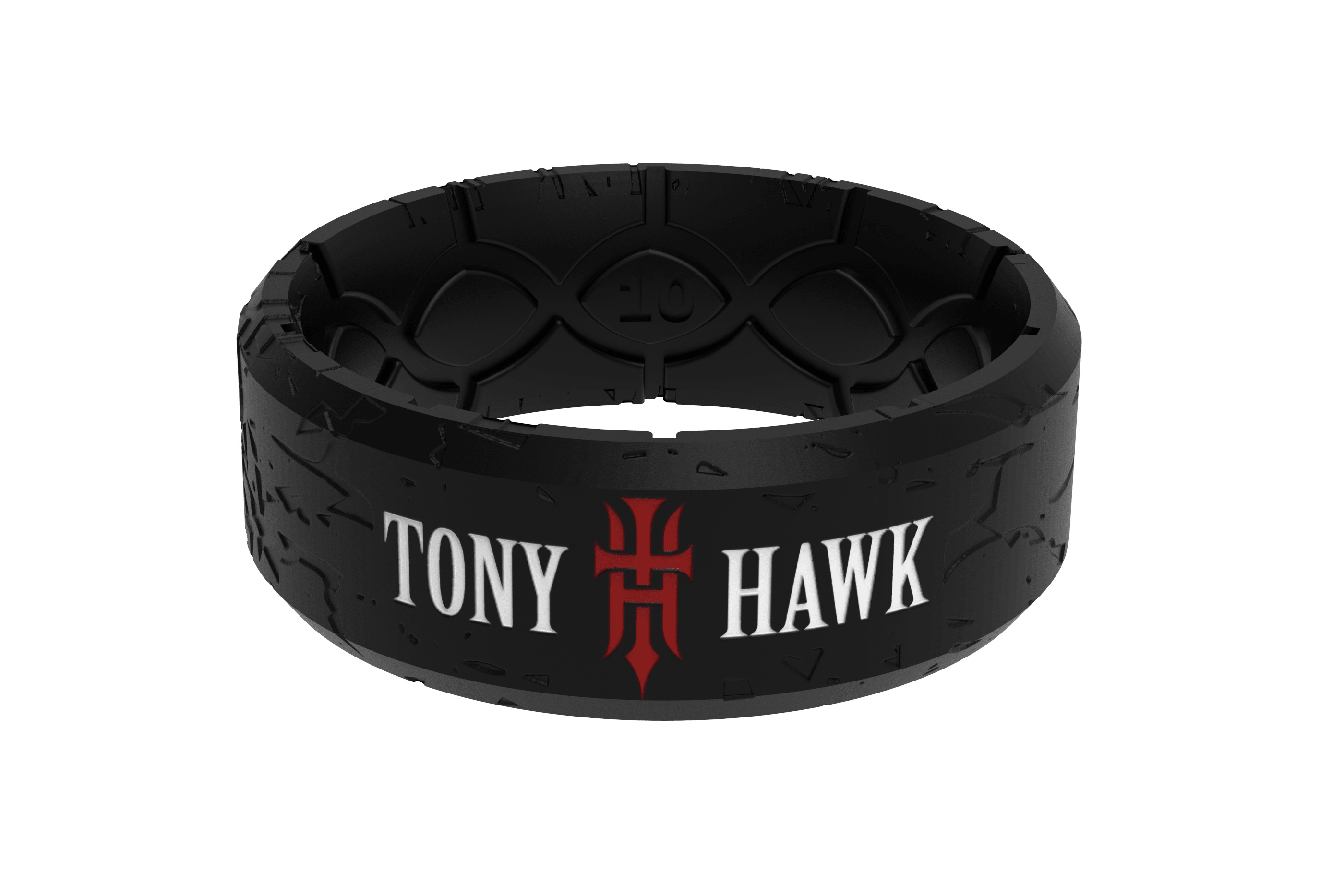 Tony Hawk Grip Tape Ring viewed front on