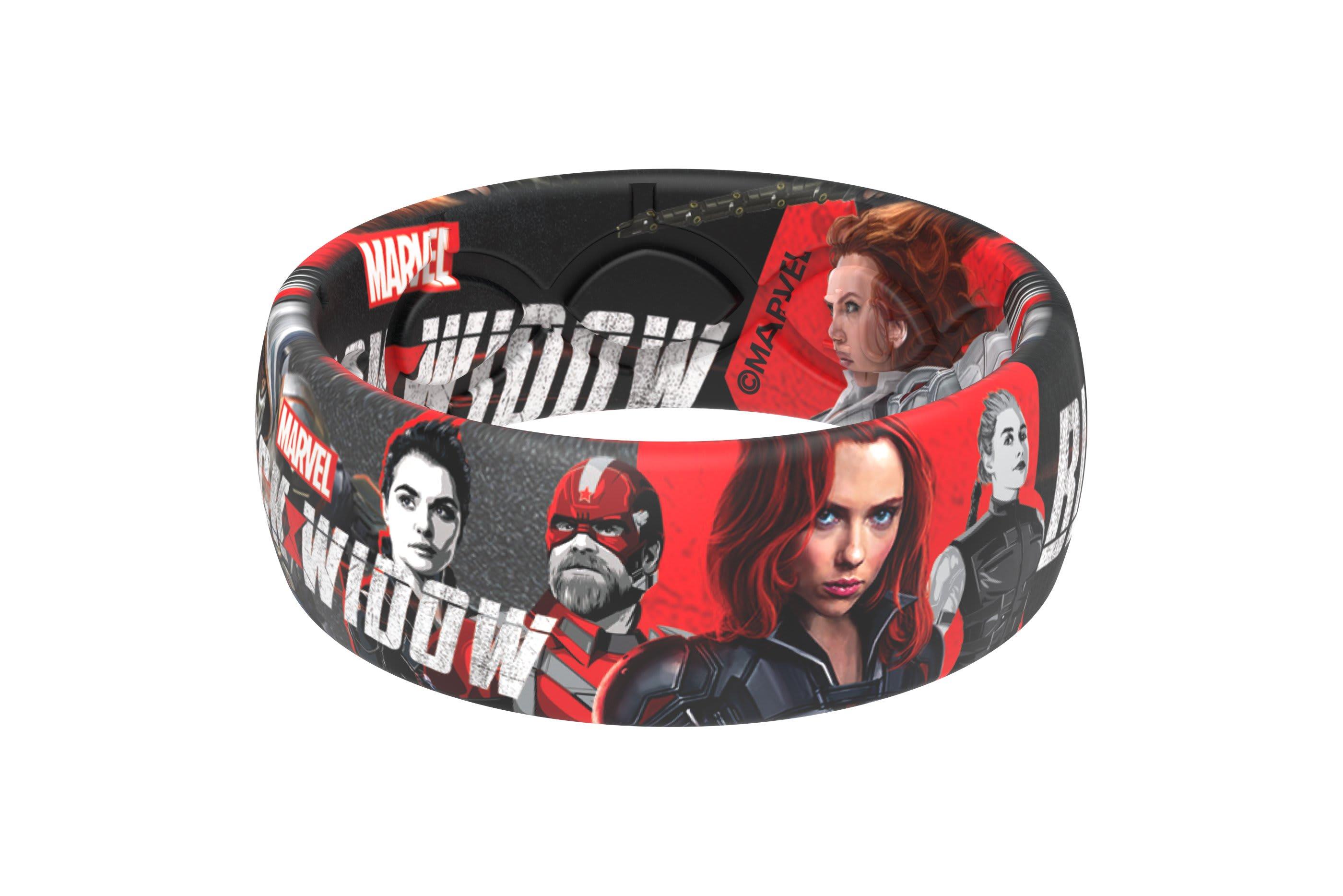 Black Widow - Natasha Ring Viewed From Side