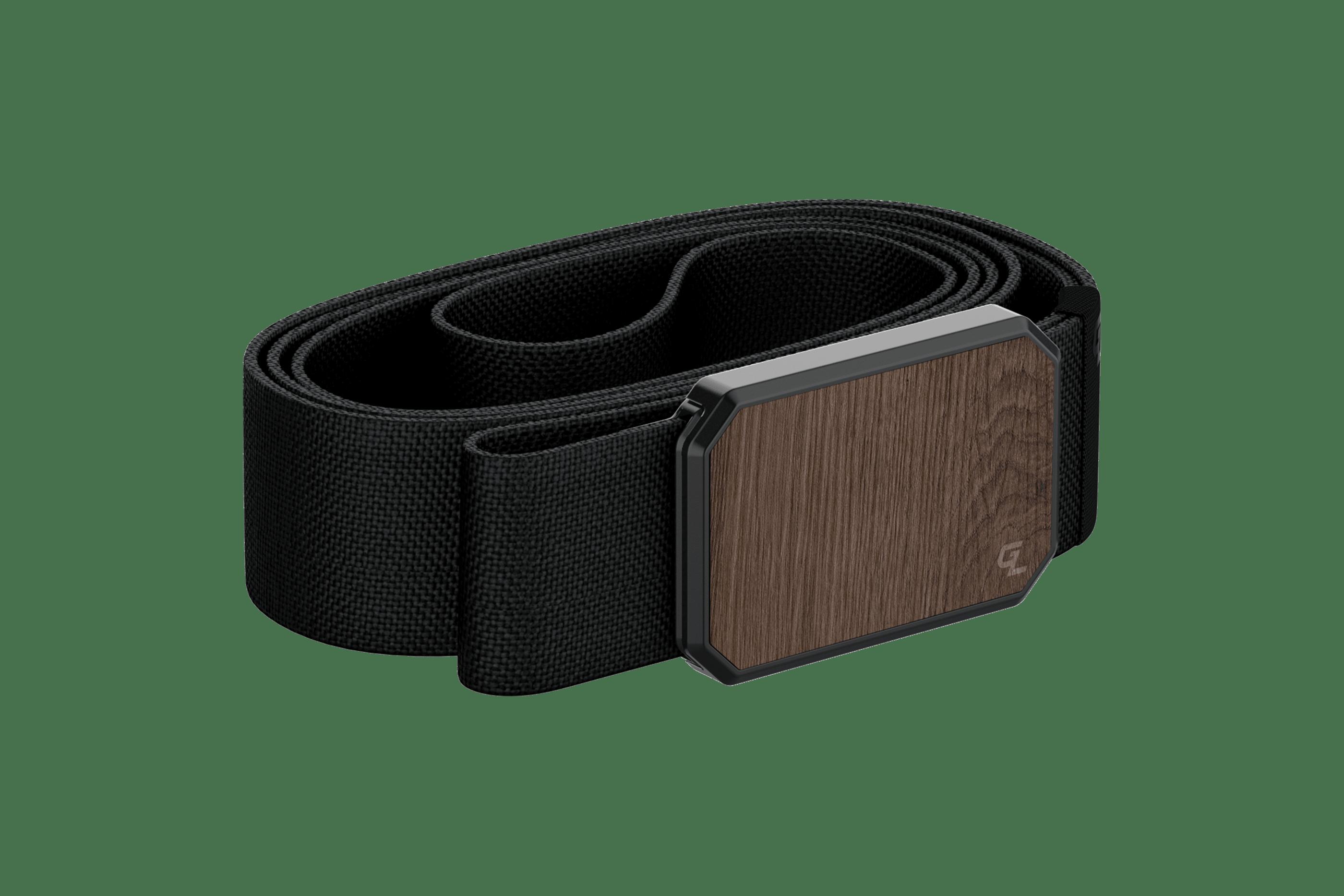 Groove Belt Walnut/Black  viewed from side