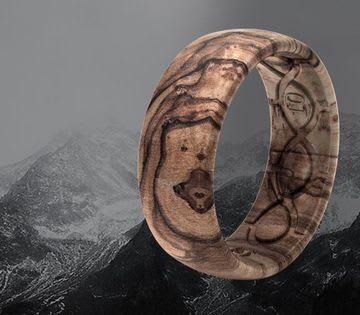 Shop Nomad Rings, featuring Burled Walnut