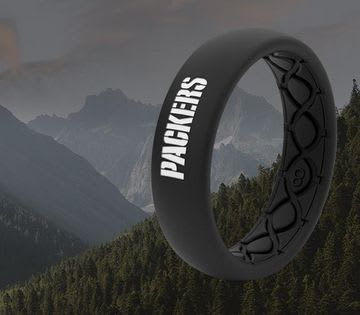 Shop Women's Sports Rings, featuring Packers thin ring