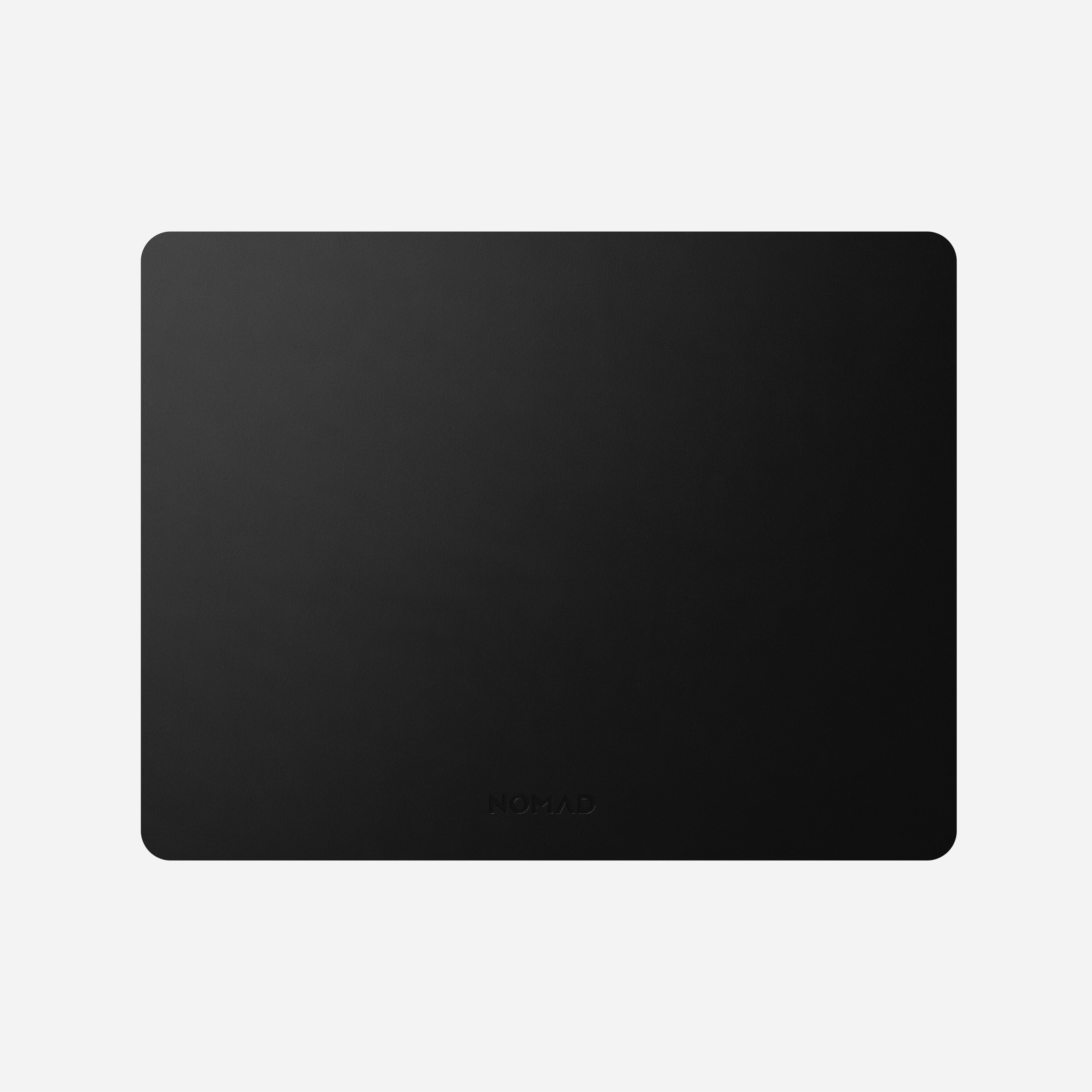 Horween Leather Mousepad Black 13-inch Font