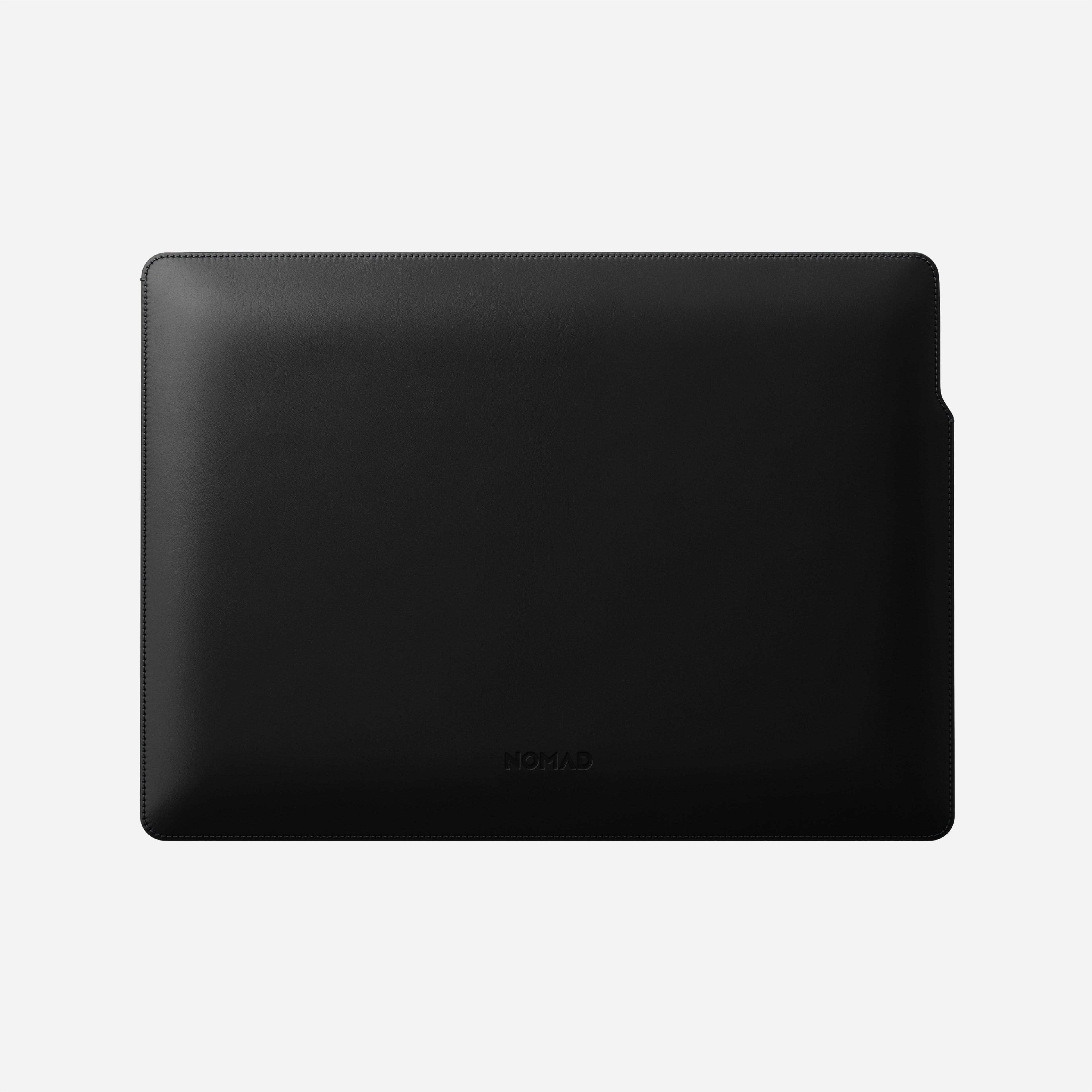 MacBook Pro Laptop Sleeve Horween Leather Front View 13-inch Aged