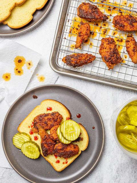 Daring Vegan Chicken Sammie