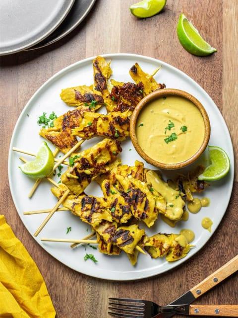Daring Plant Based Vegan Chicken Satay