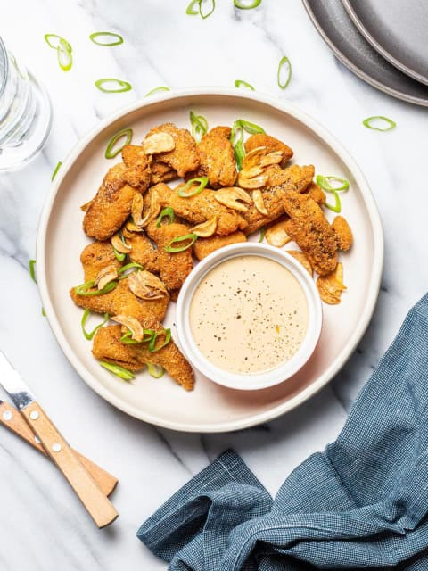 Daring Garlic Vegan Chicken Wings