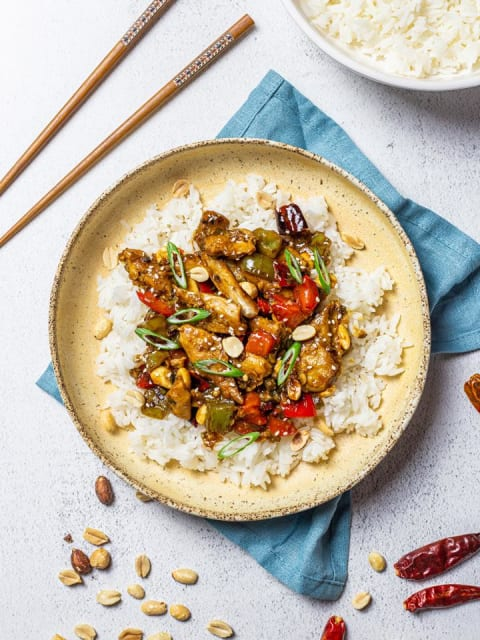 Daring Kung Pao Plant Based Chicken