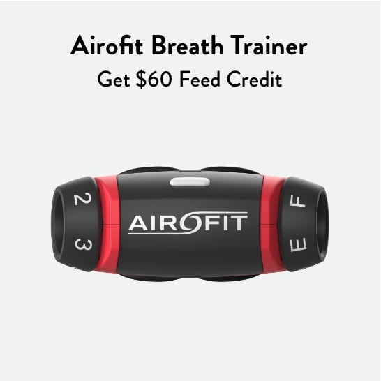 Airofit Breathing Trainer - Athlete Expert Breath Training