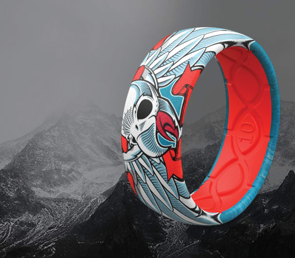 Shop Men's Tony Hawk Rings, featuring Flying Falcon