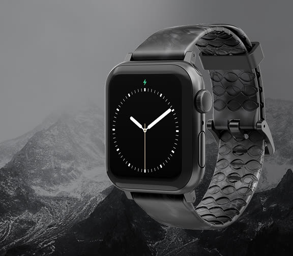 Shop Men's Watch Bands, featuring Kryptek Typhon Apple Watch Band