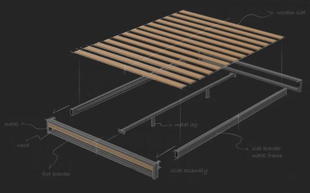 suzanne platform bed assembly