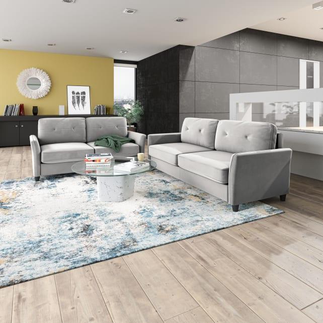 Zinus Ricardo Grey Sofa