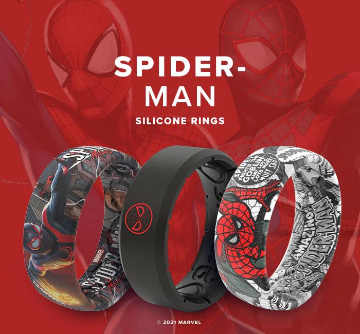 Shop Spider-Man Super Hero Rings
