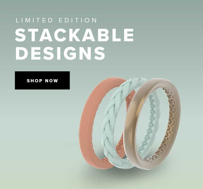 New, Limited Edition Stackable ring designs.