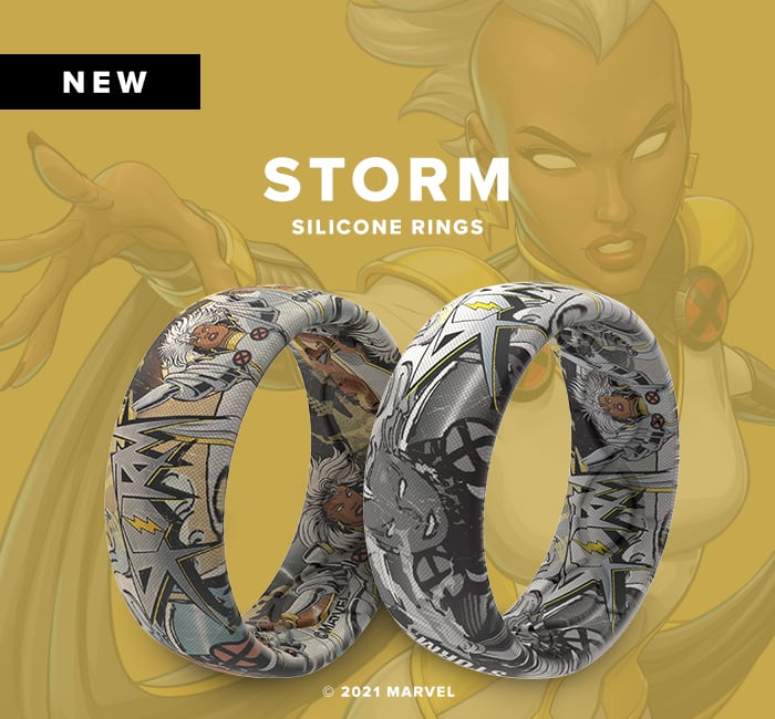Shop Storm Super Hero Silicone Rings
