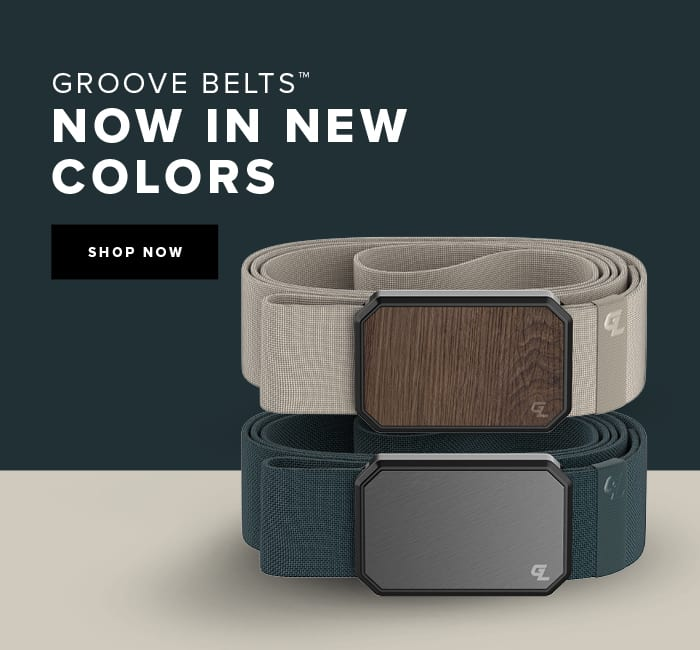 Groove Belt, Now in New Colors; Shop Now