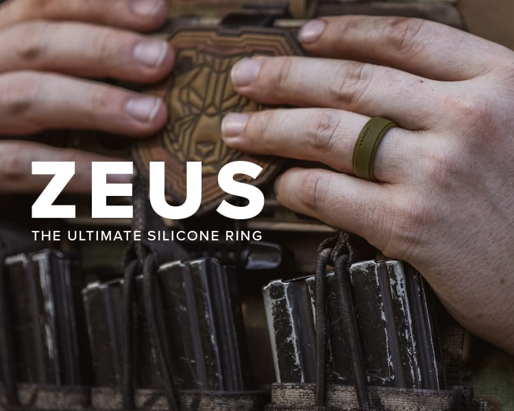 Zeus, The Ultimate Silicone Ring