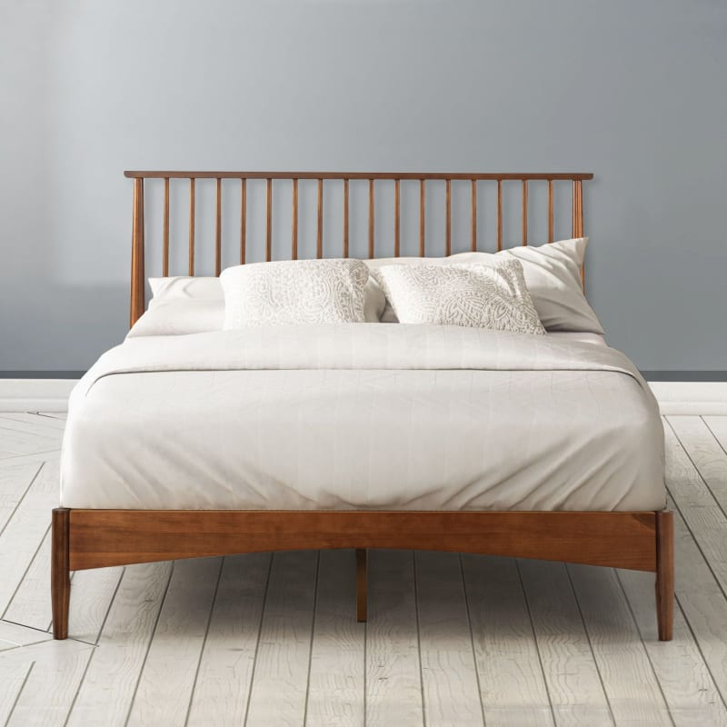 Linda Wood Platform Bed Frame