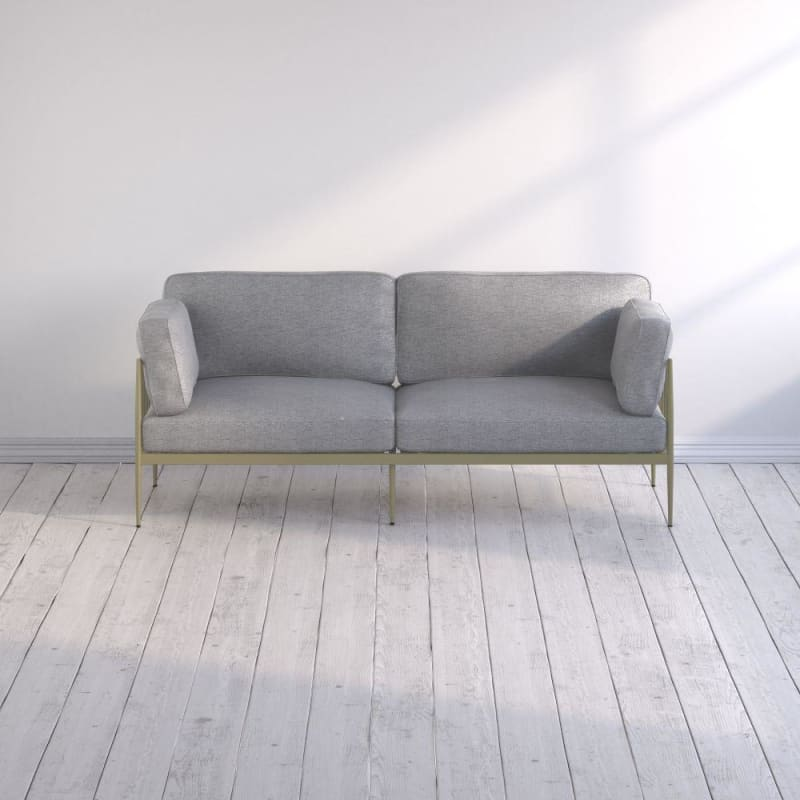 Janelle Sofa with Metal Frame
