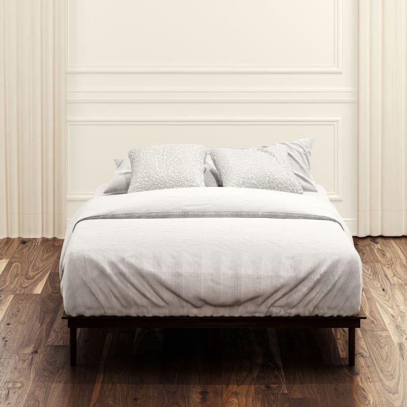 Bobbie Acacia wood platform bed frame