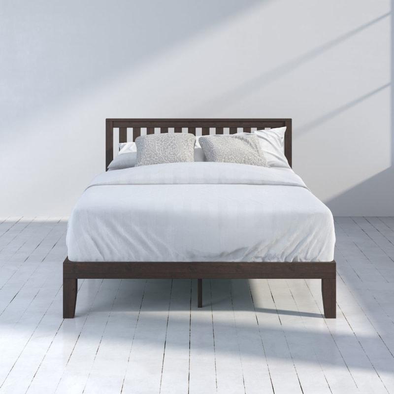 Vivek Wood Platform Bed frame