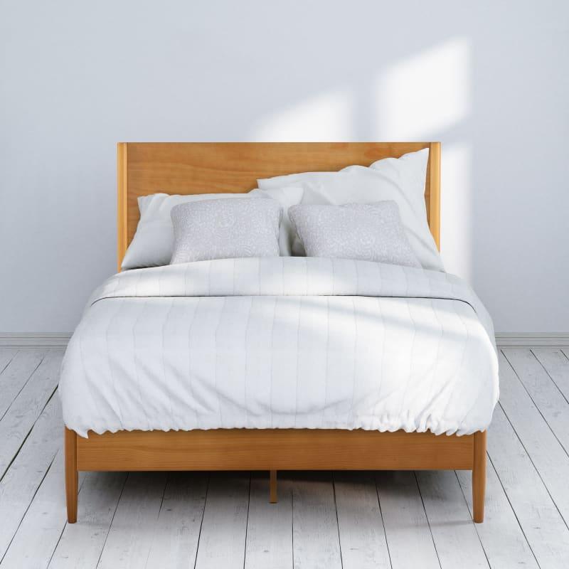 Allen Wood Platform Bed Frame
