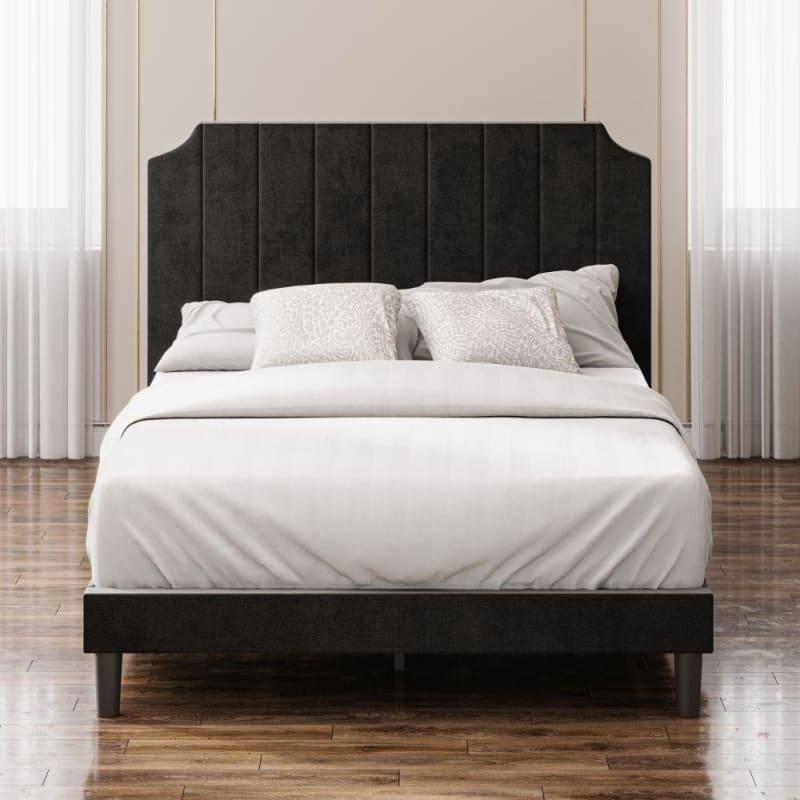 Charlotte upholstered platform bed frame