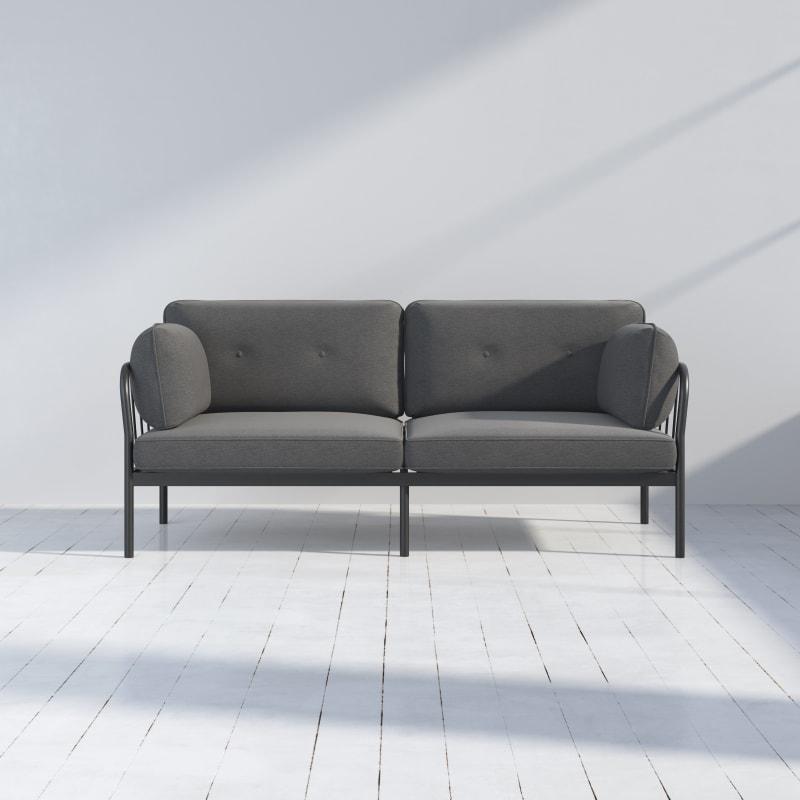 Courtney Metal Sofa
