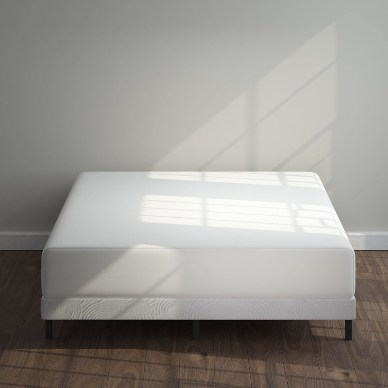 Metal Box Spring with Wood Slats 4 inch