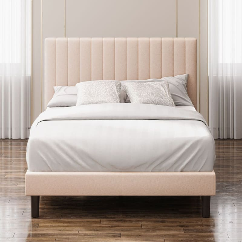 Debi Upholstered Platform Bed frame