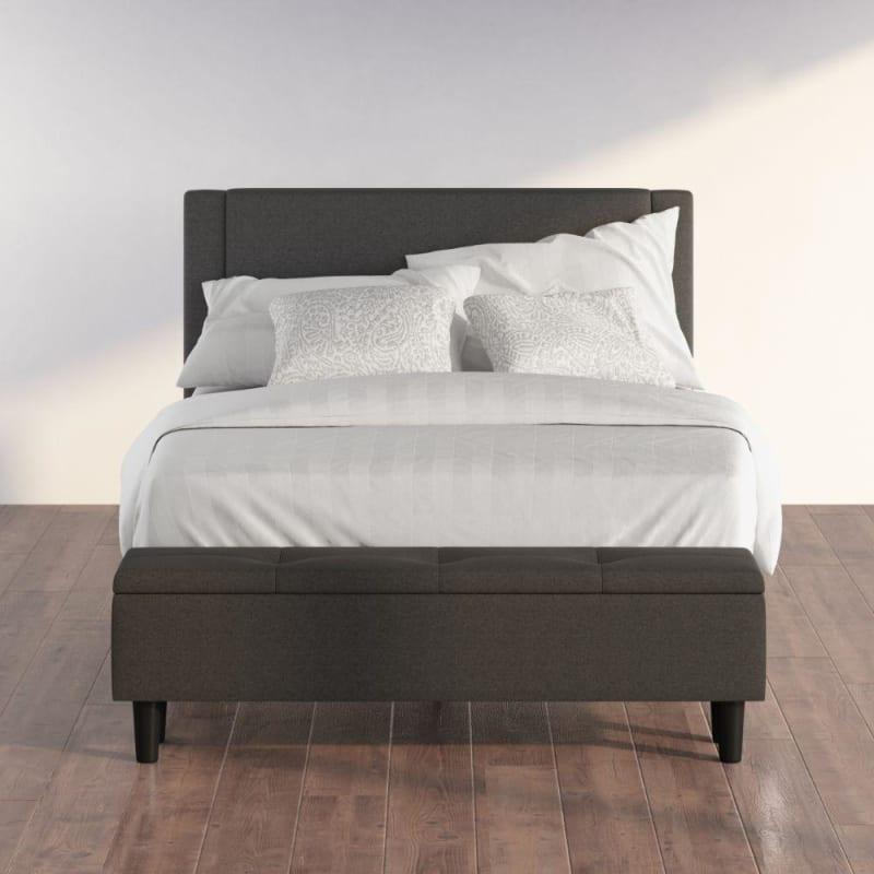 Wanda upholstered Platform Bed with Storage